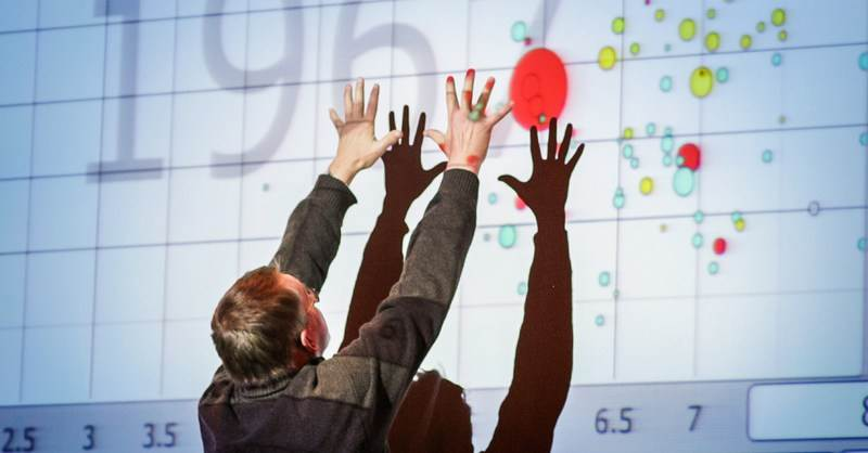 Hans Rosling talks