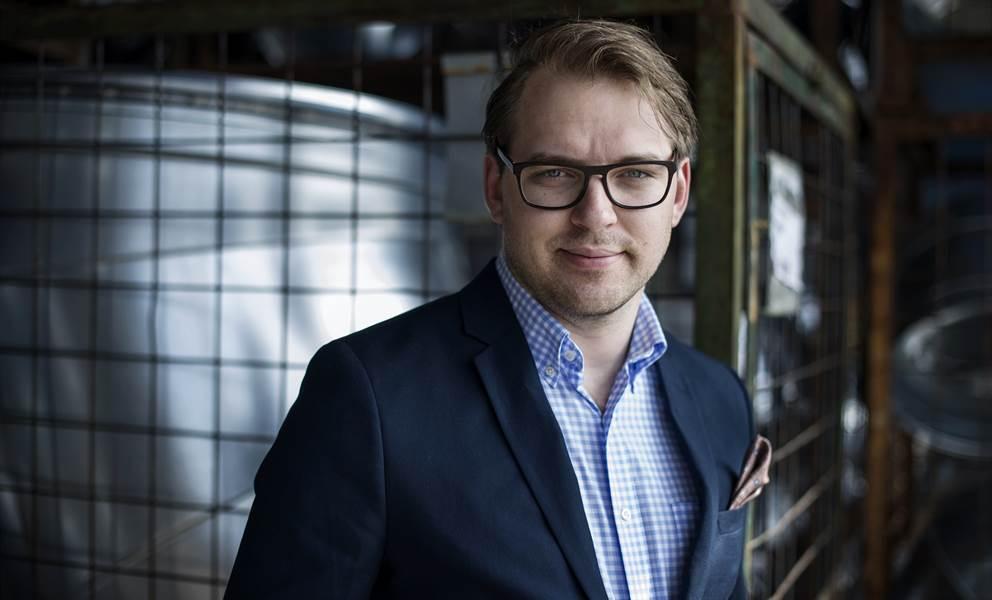 Pontus Wetterhäll, kredit- och reskontrachef på Lindab Sverige